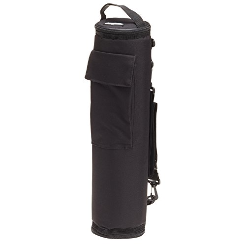 (FlexiFreeze Freezable Golf Bag Can Cooler, Black)