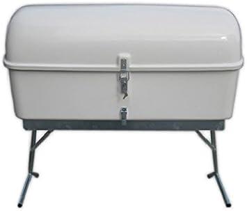 Cofre camper portaequipajes con patas para remolque, medidas 117x63x57: Amazon.es: Bricolaje y herramientas