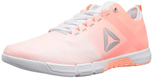 Reebok Women's CROSSFIT Grace Tr Cross Trainer, White/Digital Pink/Silver, 7 M US