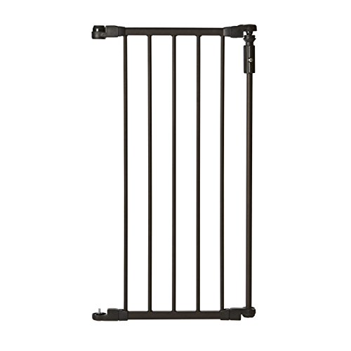 "North States Supergate Deluxe Decor 15"" gate extension, Matte Bronze"