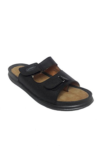 d41580c26 BATA Men s Black Leather Chappals (UK-7)  Buy Online at Low Prices ...