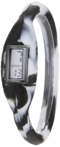 The Original Skinny Kids' SWCS01 Negative Ion Black and White Sports Watch