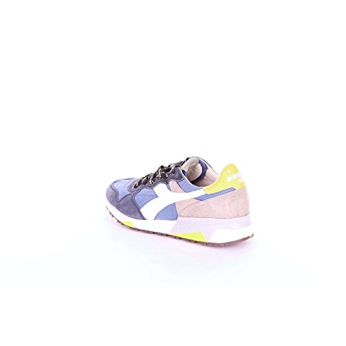 20116130401 Diadora and Blue Men Beige Sneakers v0wrqd0U