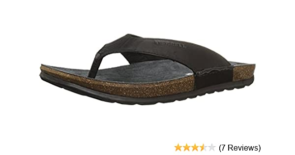 41cd9b80d848 Amazon.com  Merrell Men s Downtown Flip Sandal  Shoes