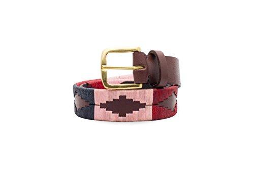 Gaucho Goods Premium Leather Polo Belt - Desert Bloom (34