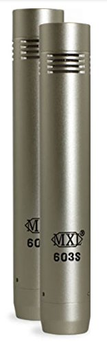 MXL-603S INSTRUMENT MIC  (Wired With Mogami) by MXL