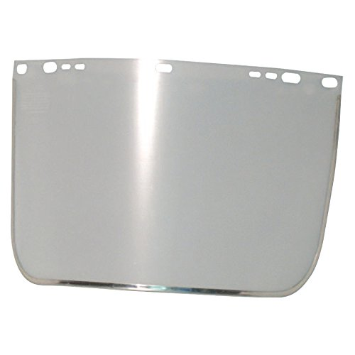 Visors, Clear, Aluminum Bound, 15 1/2 x 9 in (20 Pack)