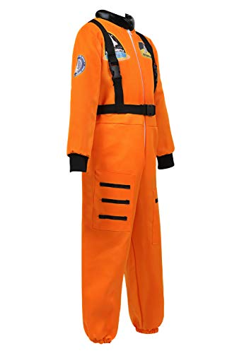 frawirshau Astronaut Costume for Kids Theme Party Role Play Space Suit Dress up Pretend Halloween Co - http://coolthings.us