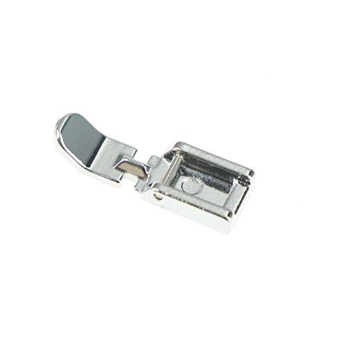 (Ioffersuper 3 Pcs Metal Zipper Sewing Machine Foot Zipper Sewing Machine Presser Foot Low Shank Snap)