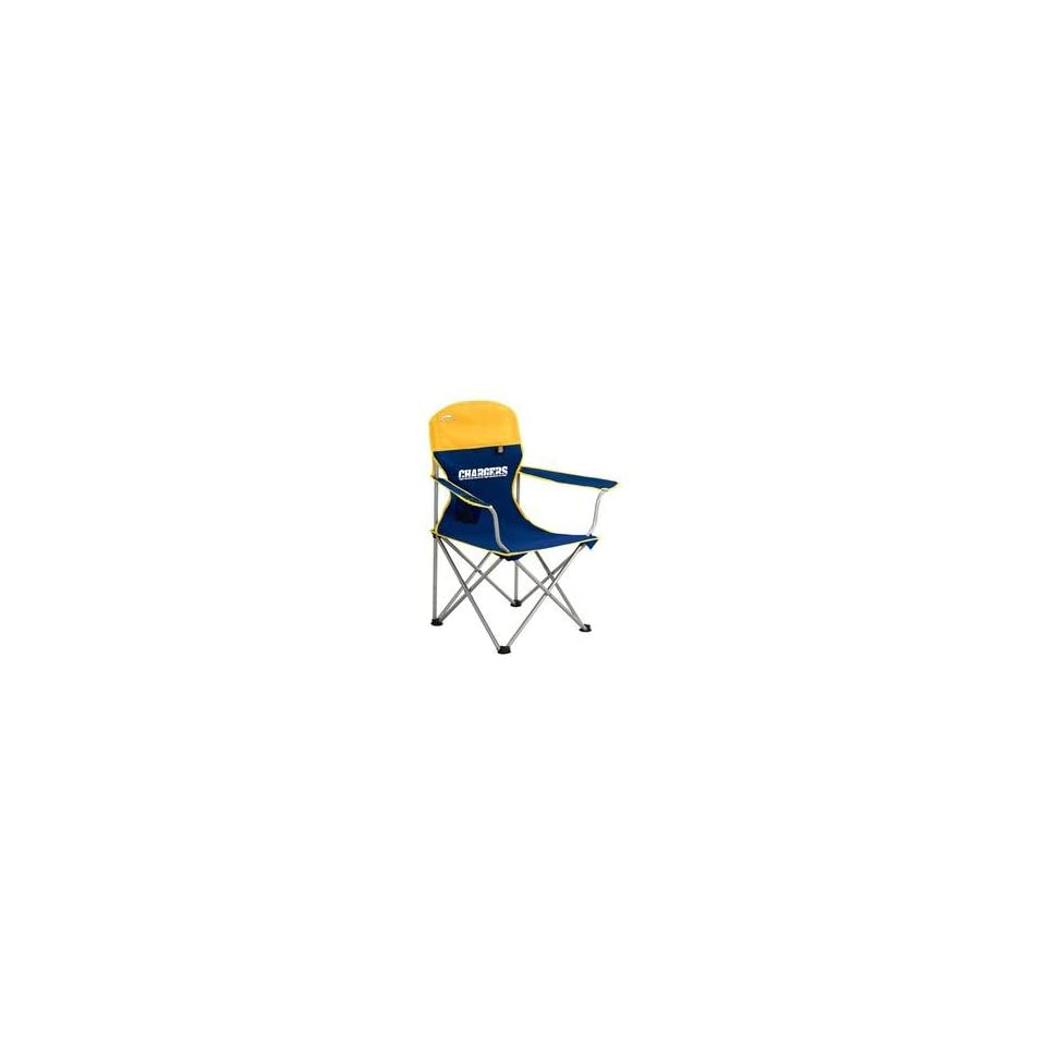 San Diego Chargers NFL Deluxe Folding Arm Chair by Northpole Ltd.