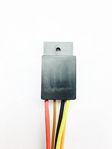 10A Mini Timer Time Delay Relay .2 Sec to 1000 Hours. 12V. Power on A Wiring Off Delay Relay on