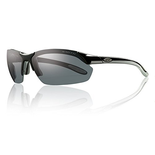 Smith Optics 2016 Parallel Max Interchangeable Lens Sunglasses (Black Frame - Polarized Gray - Smith Polarized Sunglasses Parallel Max