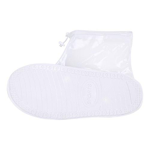 Impermeable iEFiEL de al Lluvia Unisex Lluvia Agua de Resistente Botas Zapatos Antideslizantes Protectores rUxwHYqr8