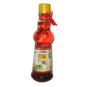 Spicy King Sichuan Peppercorn and Chili oil 5.07oz (Spicy Oil)by D&J Asian (Chinese Hot Oil)