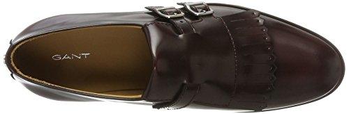 Gant Nicole, Scarpe Stringate Derby Donna Rosso (Wine Red G504)