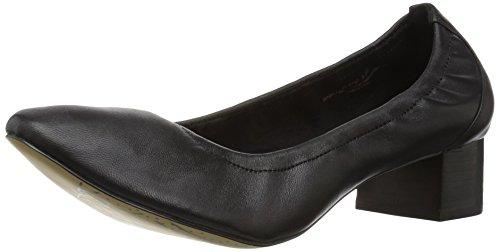 Bella Vita Women's Mattie Dress Pump, Black Leather, 7.5 M (Black Stretch Pump)
