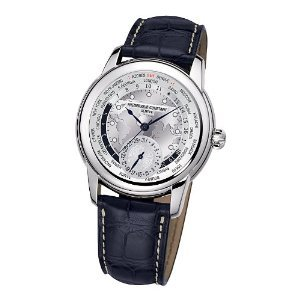 Men's Frederique Constant Manufacture Worldtimer Watch FC-718WM4H6