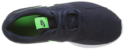 Nike Kaishi (GS) Zapatillas de Running, Niños Negro / Verde / Blanco (Obsidian / Voltage Green-White)