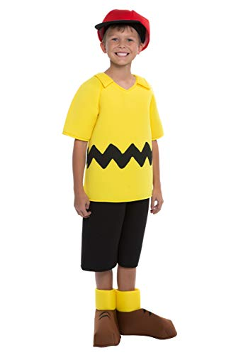 Charlie Brown Lucy Halloween Costumes (Charlie Brown Boys Costume Size)