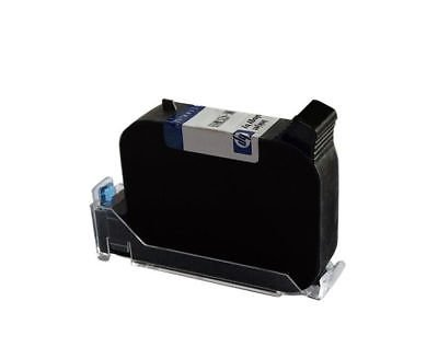 Handheld Smart Date Coder Inkjet Printer Ink Coding machine LED Screen + Cartridge (Black Ink Cartridge)