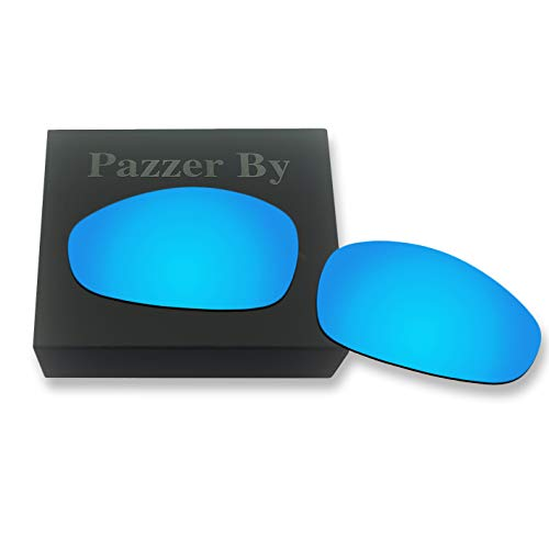 Polarized Replacement Lenses for Oakley Juliet - Ice Blue Mirrored Coating