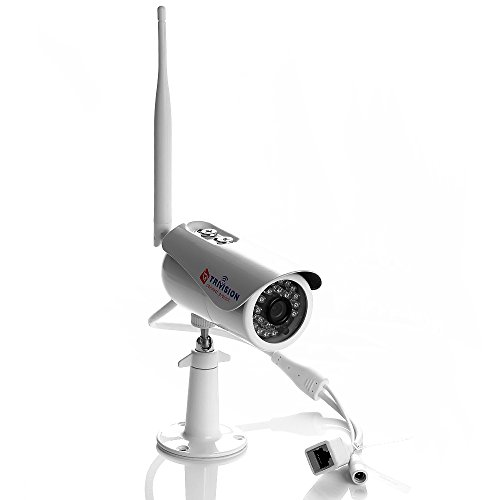 Trivision Outdoor Security Camera Wireless Wi-Fi, POE, HD 1080P,