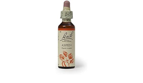 Flores de Bach original Remedios Aspen 20 ml x 1: Amazon.es: Hogar
