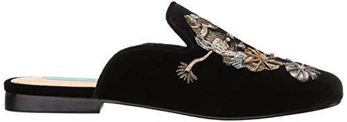 Blue Women's Black Betsey Sb Eden Mule by Velvet Johnson rfaFfZ