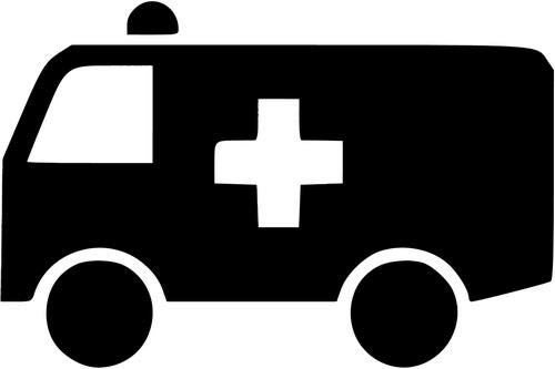 Ambulance Van - Mandy Graphics Ambulance Van Driver Medic Paramedic Job Vinyl Die Cut Decal Sticker for Car Truck Motorcycle Windows Bumper Wall Home Office Decor Size- [8 inch/20 cm] Wide and Color- Gloss Black