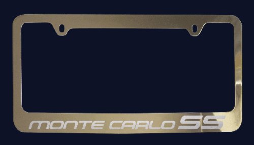 o SS License Plate Frame (Zinc Metal) ()