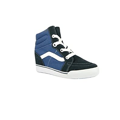 755ff4890c Vans SV Skate Sk8 Hi Platform Trainers Women Wedge - Navy  Amazon.co.uk   Shoes   Bags