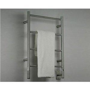 [해외]지브스 I 스트레이트 화이트 타올 워머 by 암바/Jeeves I Straight White Towel Warmer by Amba