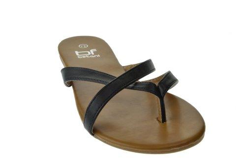 Sandalo Infradito Donna 605 Nero