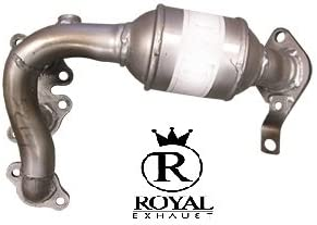 2004-2006 Toyota Sienna Catalytic Converter compatible with 2004-2006 Lexus RX330 2004-2007 Toyota Highlander 3.3L Left Side Manifold