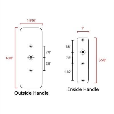 Storm Door Hardware Surface Mount-1-1/2 by Internatonal Resources, Inc. (Image #2)