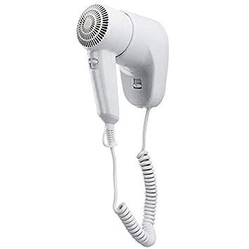 DOBO® secador de Pelo secador Pared Pared TS1 Color Blanco 1300 W 2 velocidades ahorraespacio