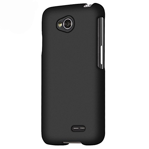 Generic LG Optimus L70 (Metro PCS) Slim Light Hybrid Snap On Non-Slip Matte Hard Case Protex...