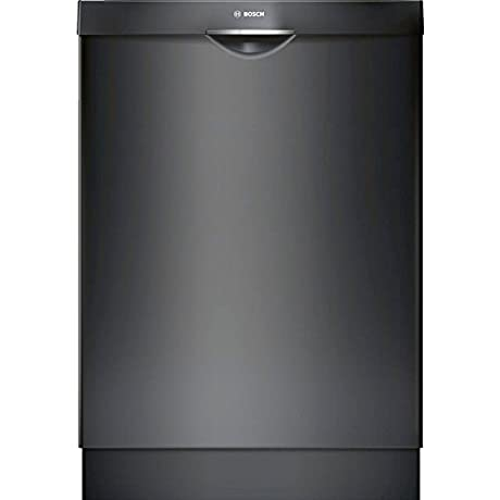 Bosch SHS863WD6N 300 Series Built In Dishwasher With 5 Wash Cycles 16 Place Settings 3rd Rack SpeedPerfect RackMatic In Black