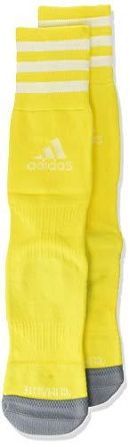 adidas Copa Zone Cushion IV Soccer Socks (1-Pack), Yellow/White, 5-8.5 ()