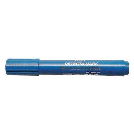 Metal Detectable Dry Erase Marker, Blue, PK10