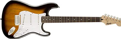 Squier by Fender Bullet Strat Beginner Electric Guitar - Brown Sunburst - Rosewood Fingerboard