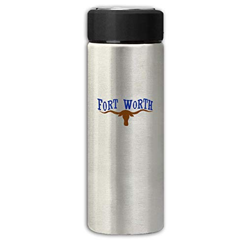 Texas Not Texas Secede Austin Dallas Oil Longhorn Business Scrub Thermos Cup Stainless Steel Vacuum Thermos Flask Keeps 18 Hours Hot 13 Oz - Longhorns Texas Steel Stainless Thermos
