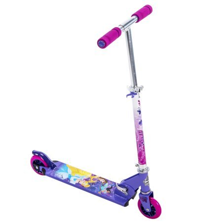 - by Huffy Disney Princess Girls' 2-Wheel Inline Folding Scooter