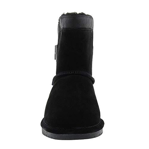 BEARPAW Women's BEARPAW Black Shantelle Shantelle Boot 8g0041n