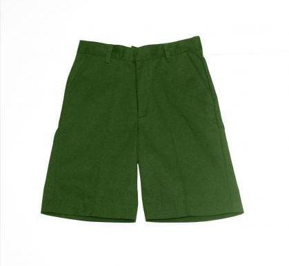 K&A Company Flat Front Shorts Boys Hunter Sizes 8-20 Case Pack 24 by K&A Company