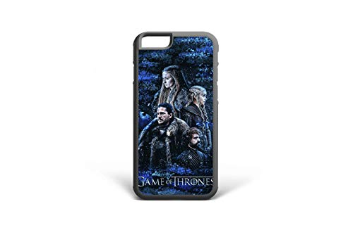 (Koldan iPhone 8 7 Plus Case Game of Thrones 5 5S SE iPhone XR X Cover Daenerys iPhone 6 6S Plus XS Max Jon Snow Samsung S8 S9 Plus Tyrion Lannister S6 Samsung S7 Edge Note 9 Note 8 Sansa Stark 2DaO527)