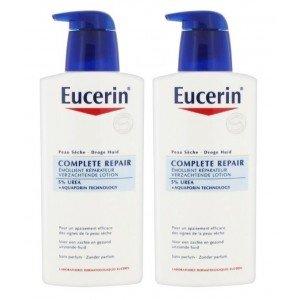 2x Eucerin Complete Repair UREA PLUS Lotion 5% UREA 400ml