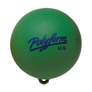Polyform - Slalom Bouy Ball Green 9 by (Slalom Bouy)