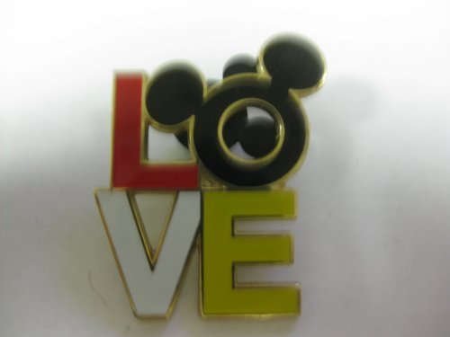 Disney Pin LOVE Mickey Ears