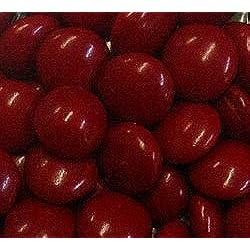 Red Milk Chocolate Gems (Lentils) 5LB Bag